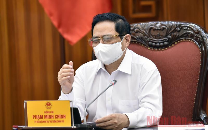 Thủ tướng Phạm Minh Chính làm việc với  Bộ Khoa học và Công nghệ -0