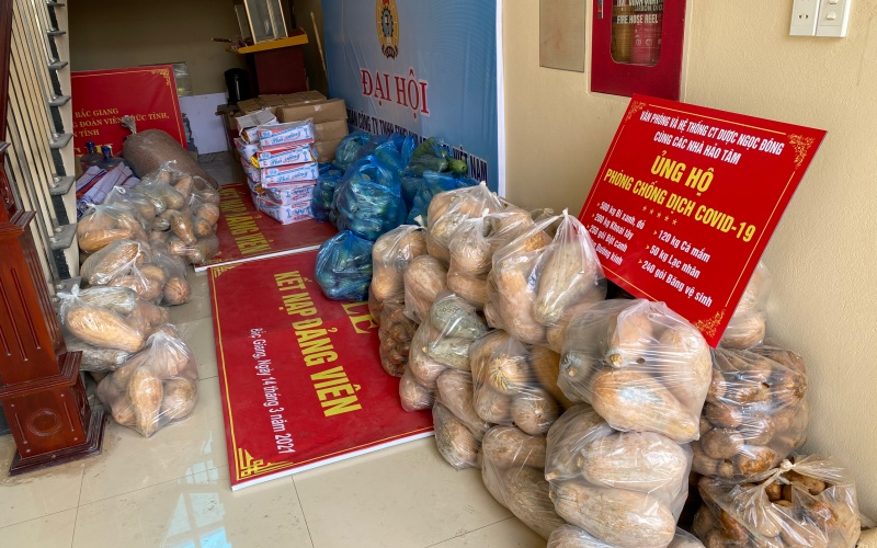 Chuyện của nữ cán bộ công đoàn trong tâm dịch Bắc Giang -0