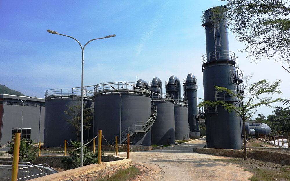 Khánh thành Hệ thống xử lý nước rỉ rác giai đoạn 2 tại bãi rác Khánh Sơn- Đà Nẵng -0