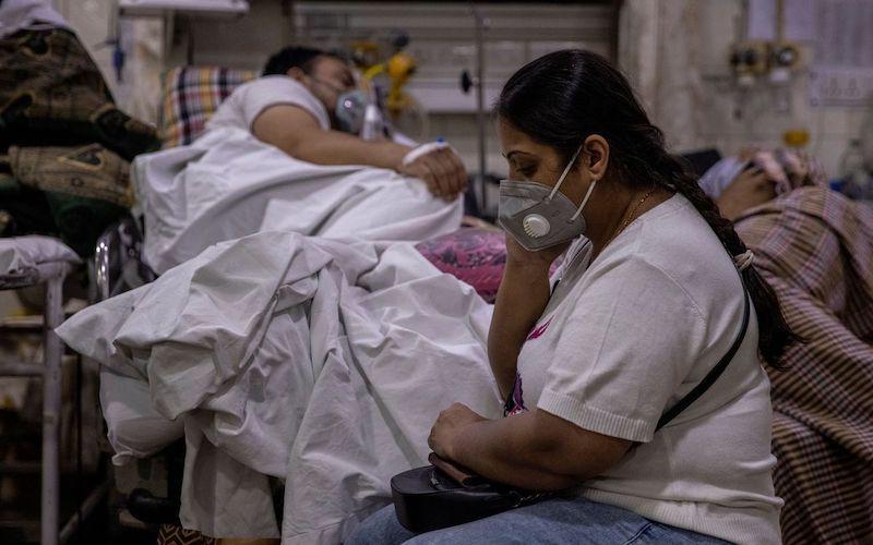 Ấn Độ ghi nhận số ca tử vong do Covid-19 theo ngày cao kỷ lục, hơn 6.100 ca