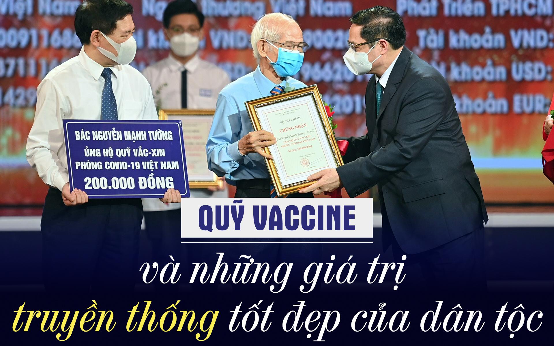 Quỹ Vaccine và những giá trị truyền thống tốt đẹp của dân tộc -0