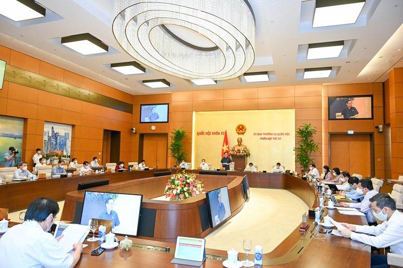 Khai mạc phiên họp thứ 57 Ủy ban của Thường vụ Quốc hội -0