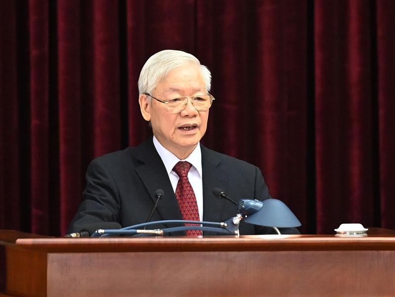 Khai mạc Hội nghị lần thứ 3 Ban Chấp hành Trung ương Đảng khóa XIII -0