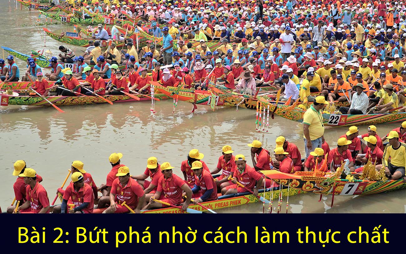 Ðồng bào Khmer chung tay xây dựng nông thôn mới -0