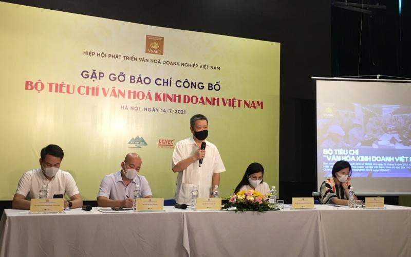 Công bố Bộ tiêu chí văn hóa kinh doanh Việt Nam -0