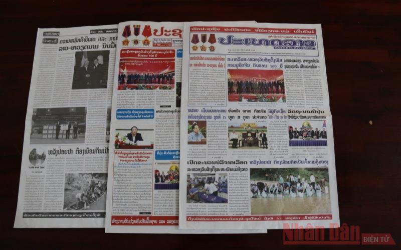 Báo chí Lào: Quan hệ Việt Nam - Lào ngày càng đi vào chiều sâu và hiệu quả -0