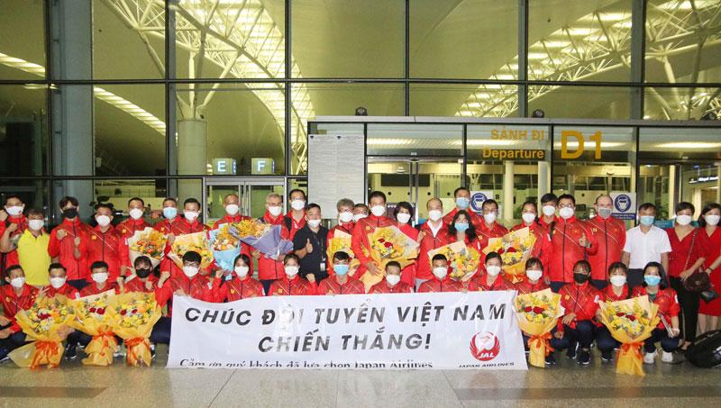 Đoàn thể thao Việt Nam sang Nhật Bản tham dự Olympic Tokyo 2020