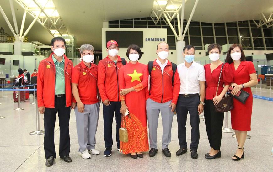 Đoàn thể thao Việt Nam chính thức lên đường tham dự Olympic Tokyo 2020 -0