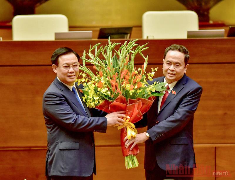 Đồng chí Vương Đình Huệ được Quốc hội tín nhiệm bầu giữ chức Chủ tịch Quốc hội khóa XV -0