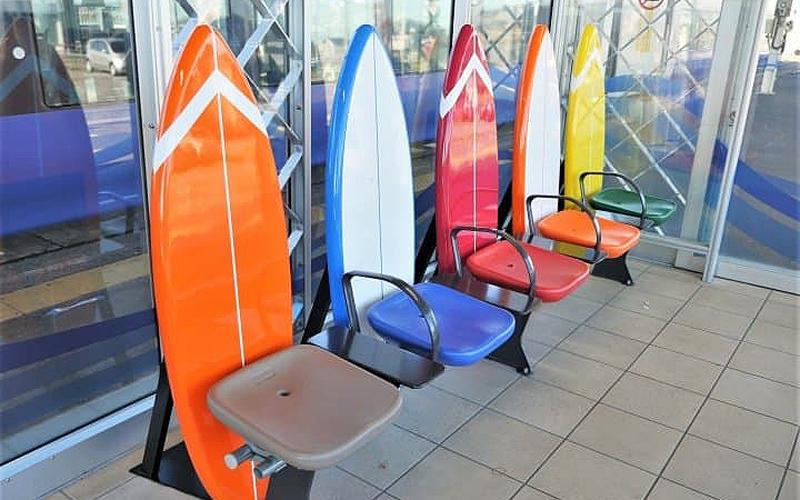 Địa điểm diễn ra cuộc thi lướt sóng đầu tiên ở Olympic -0