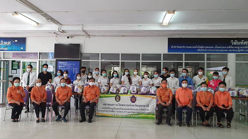 Hội người Việt tỉnh Udon Thani (Thái Lan) chia sẻ khó khăn với lưu học sinh Việt  -0