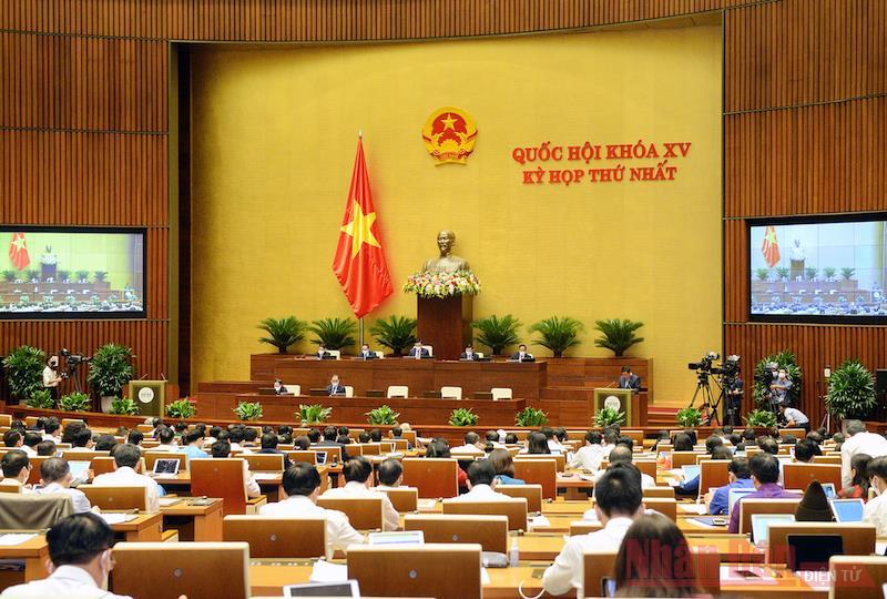 Giữ ổn định cơ cấu tổ chức của Chính phủ khóa XV nhiệm kỳ 2021-2026 -0