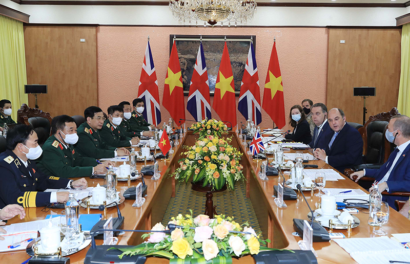 Thúc đẩy  hợp tác quốc phòng giữa Việt Nam và Liên  hiệp Vương quốc Anh và Bắc Ai-len -0