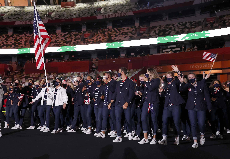 Những hình ảnh ấn tượng tại Lễ khai mạc Olympic Tokyo 2020 -0