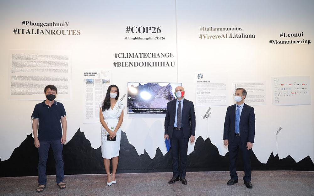 Triển lãm song hành phong cảnh Việt Nam và Italia diễn ra trực tuyến -0