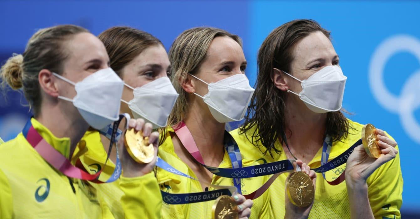 Kình ngư 18 tuổi gây bất ngờ ở đường đua xanh Olympic -0
