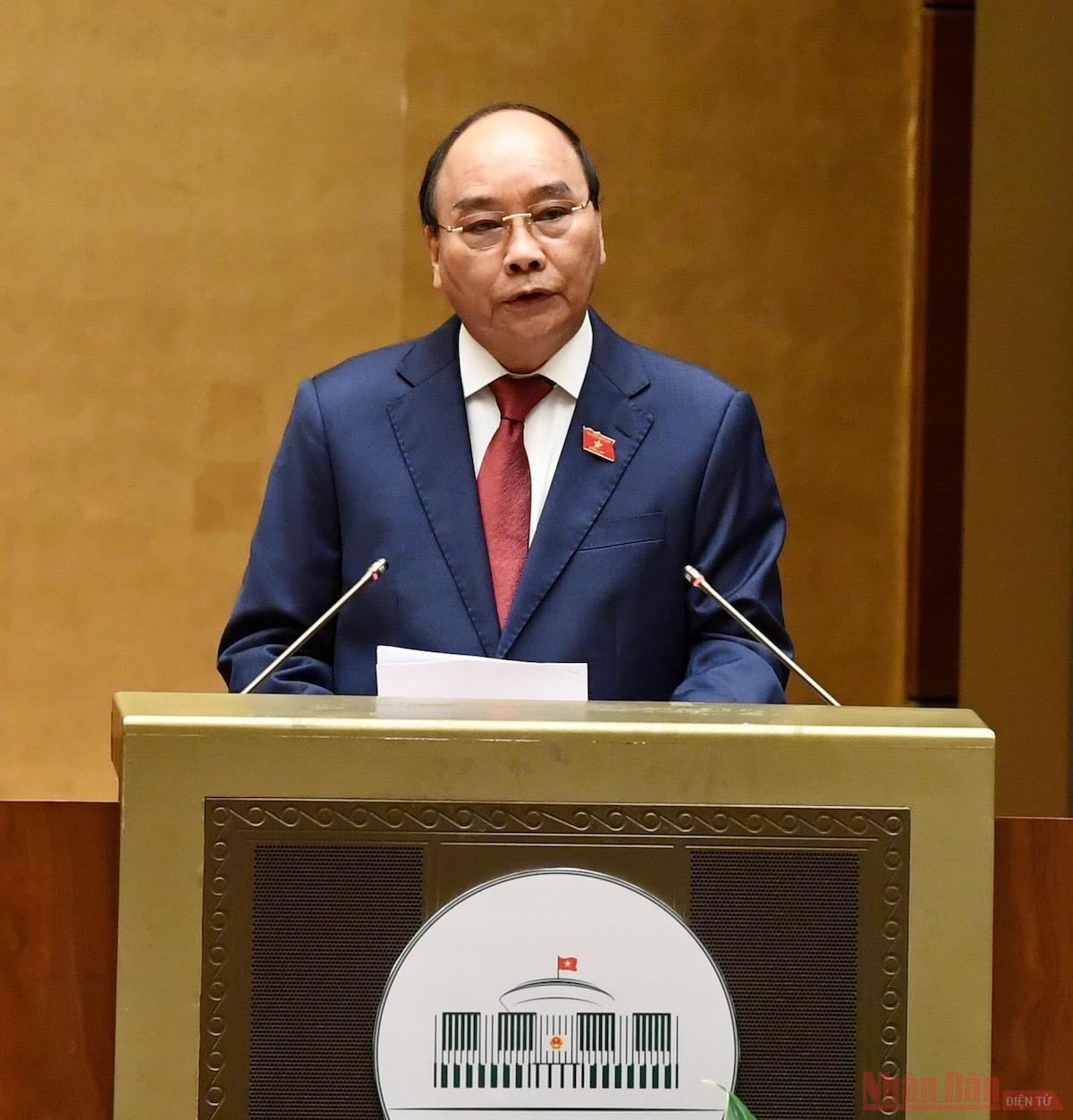 Chủ tịch nước Nguyễn Xuân Phúc tuyên thệ nhậm chức -0