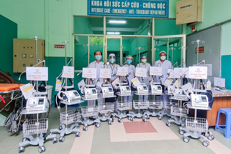Tập đoàn Hưng Thịnh hỗ trợ 35 tỷ đồng cho TP Hồ Chí Minh phòng, chống dịch Covid-19 -0
