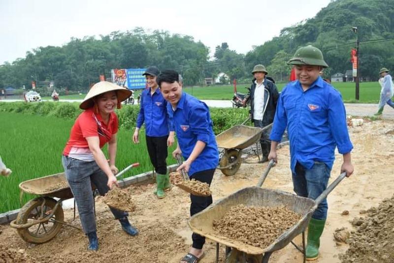 Phong trào hiến đất làm đường ở Yên Bái -0