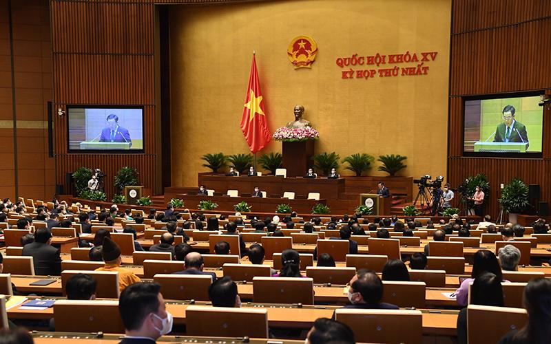 Bế mạc kỳ họp thứ nhất, Quốc hội khóa XV -0