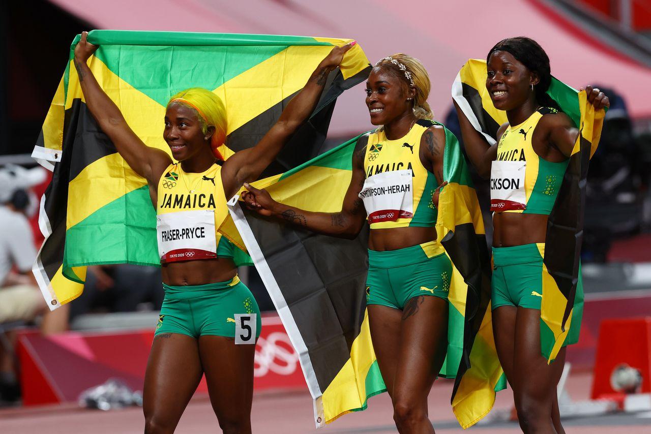 Thompson-Herah bảo vệ ngôi hậu đường chạy 100m nữ, phá kỷ lục Olympic -0