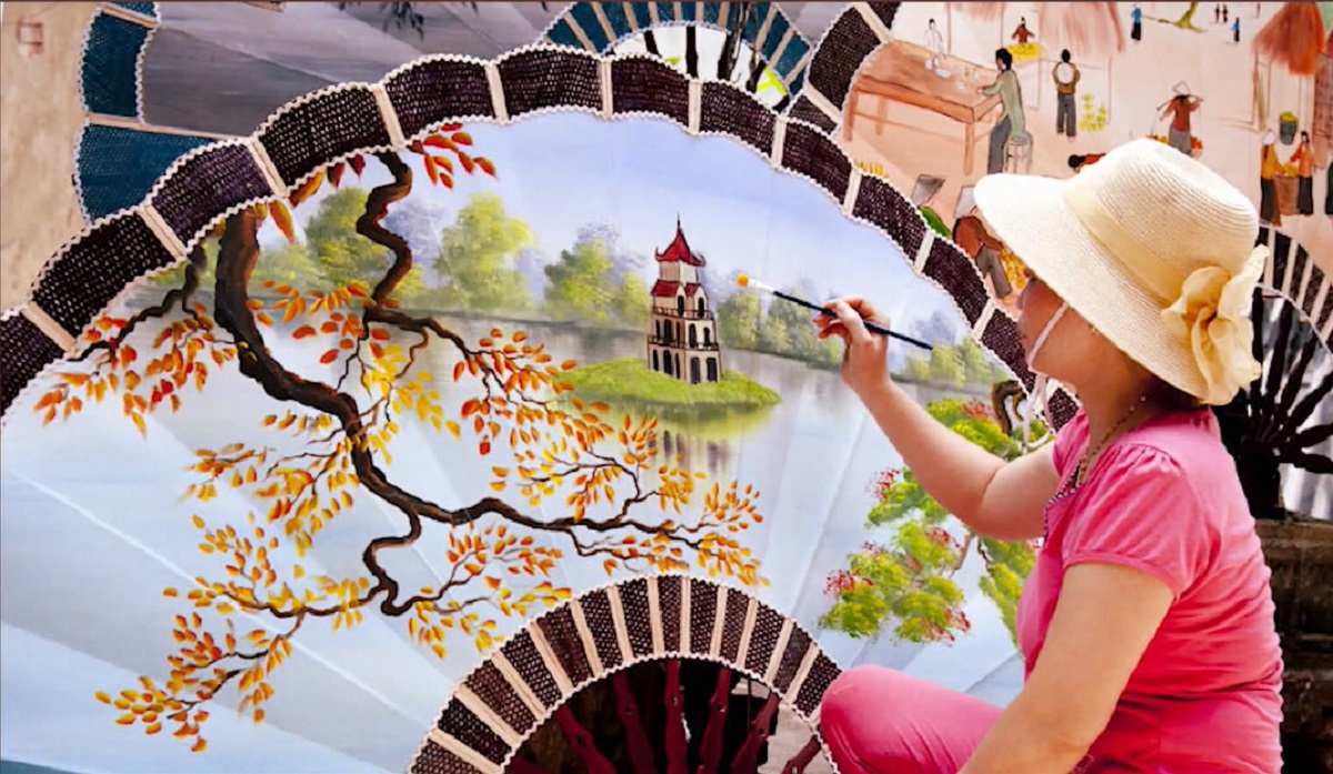 Tôn vinh nét đẹp phụ nữ Việt Nam và làng nghề truyền thống -3