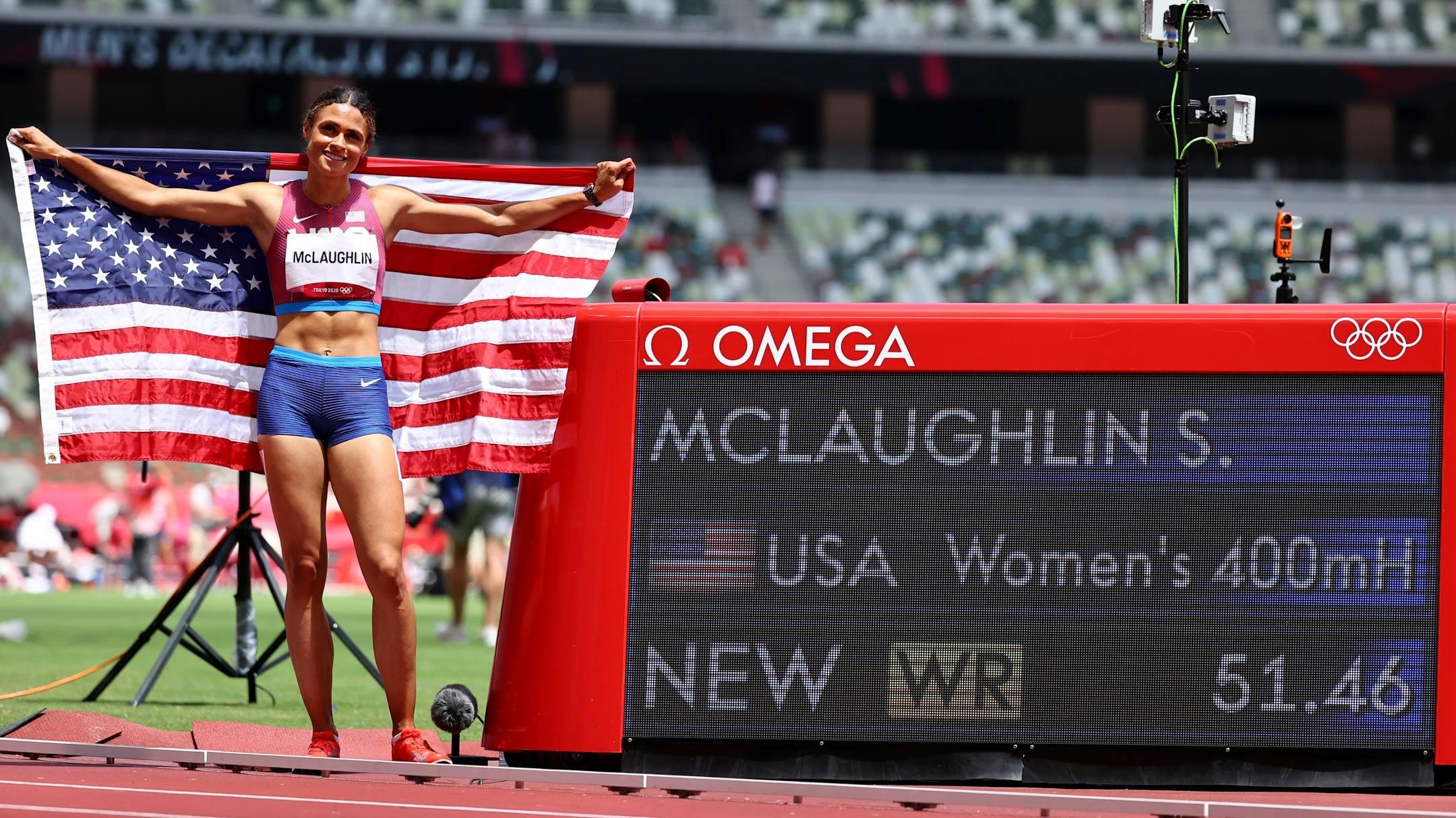 McLaughlin phá kỷ lục thế giới 400m vượt rào nữ -0