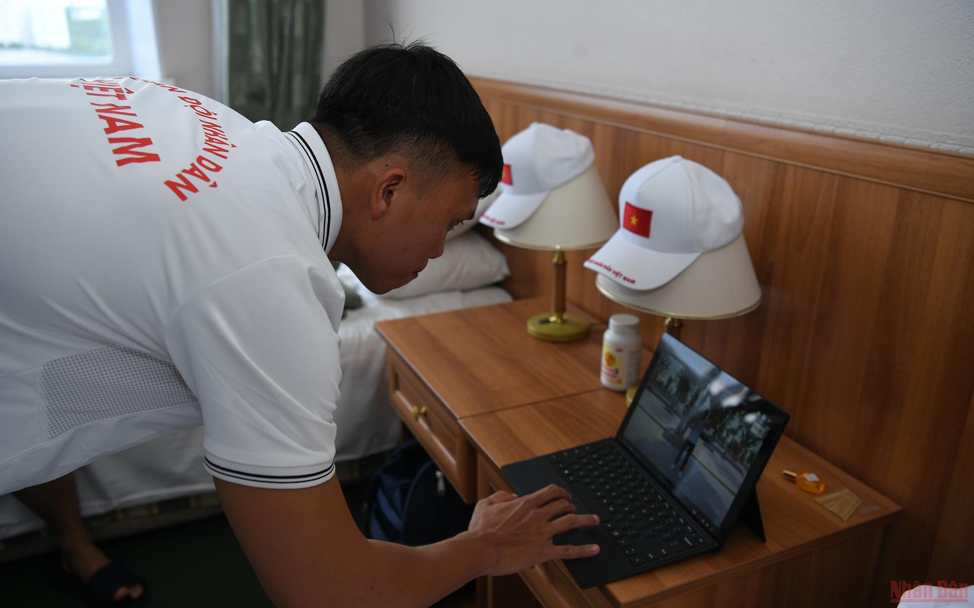 Army Games 2021: Đoàn Việt Nam luyện tập duy trì thể trạng tốt trong những ngày cách ly -0