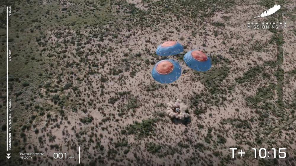 Blue Origin phóng thành công tàu thử nghiệm khoa học để đổ bộ lên mặt trăng -0