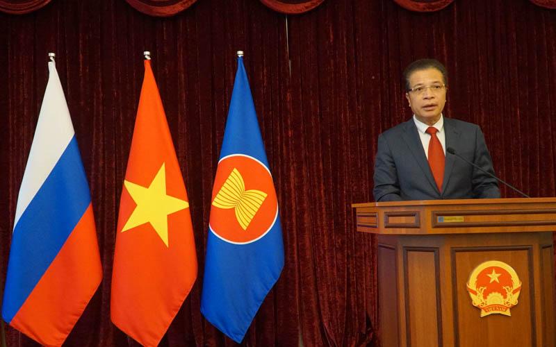 Hoạt động mừng 76 năm Quốc khánh Việt Nam tại LB Nga -0