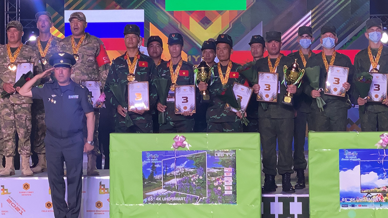 Các đội tuyển Việt Nam liên tiếp gặt huy chương tại Army Games 2021 -0