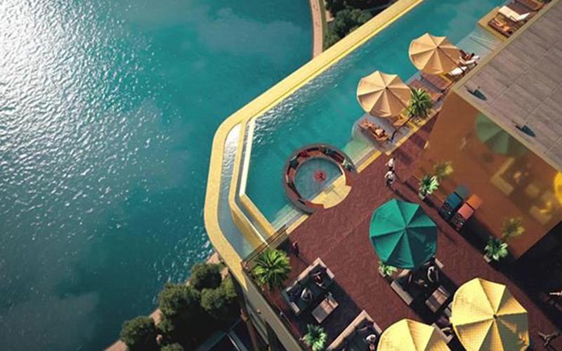 Khách sạn độc đáo giữa lòng Hà Nội -0