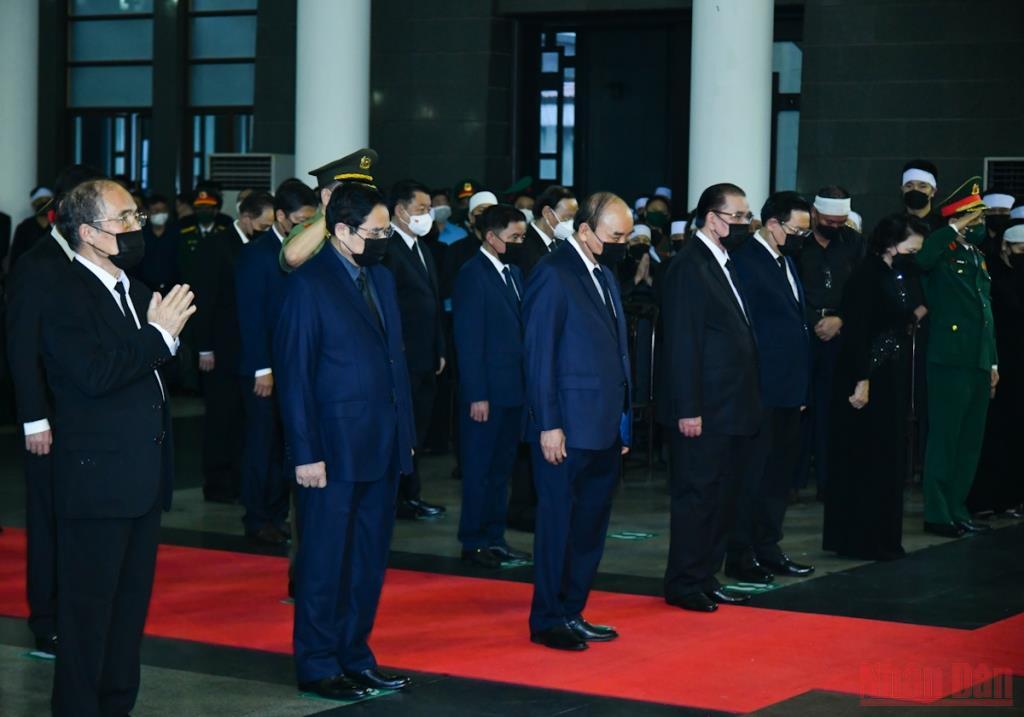 Cử hành trọng thể Lễ tang Đại tướng Phùng Quang Thanh -0