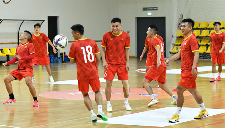 Đội tuyển futsal Futsal Việt Nam quyết giành 3 điểm trước Panama -0