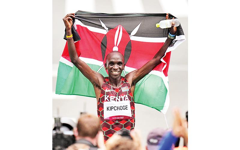 Người Kalenjin trên đường chạy -0