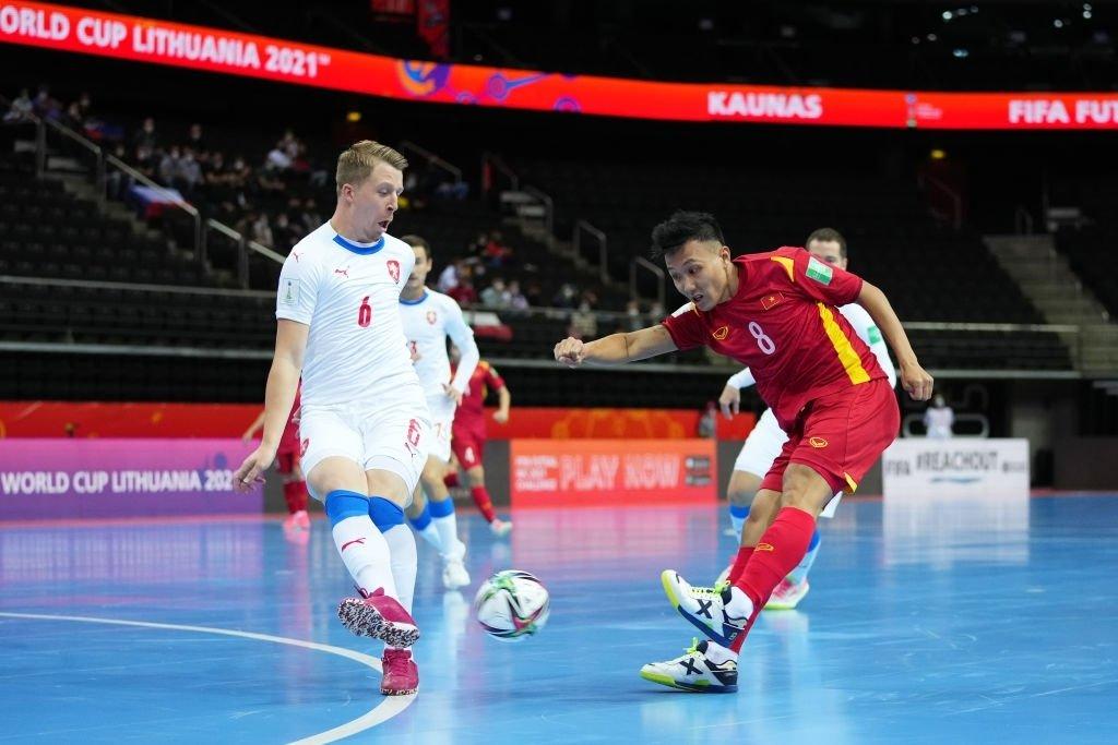 Đội tuyển futsal Việt Nam 0-0 Cộng hòa Czech: Đội bạn ép sân -0