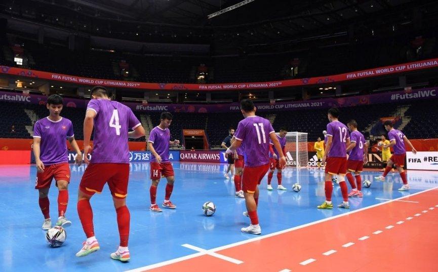 Futsal Việt Nam vs Nga: Cuộc đối đầu thử thách -0