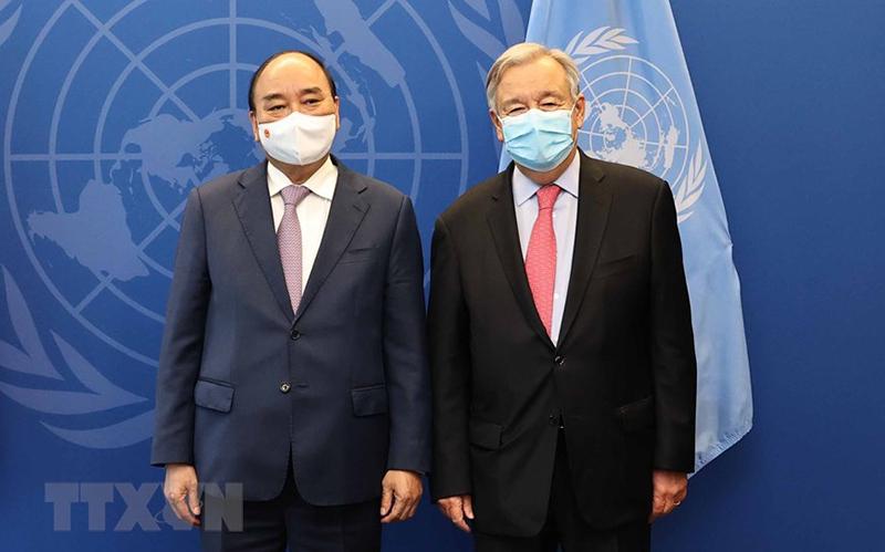 Chủ tịch nước đề nghị Liên Hiệp Quốc hỗ trợ Việt Nam tiêm vaccine rộng rãi -0