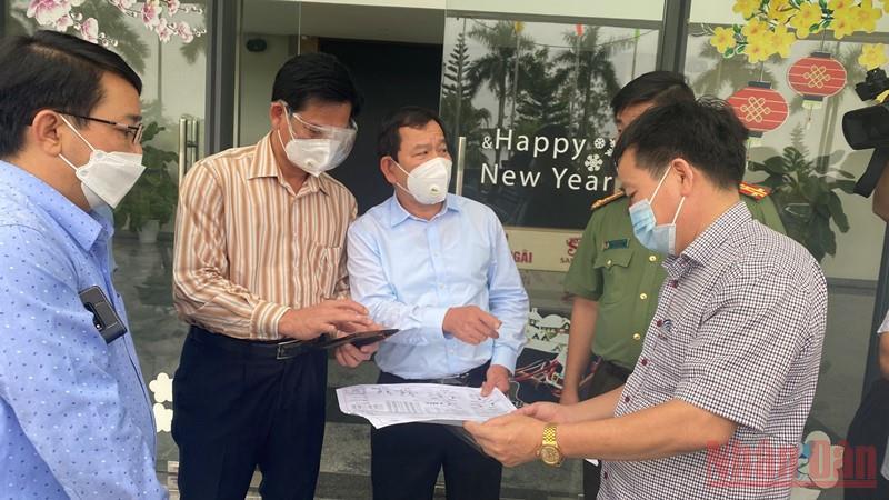 Doanh nghiệp tại Khu công nghiệp Quảng Phú trở lại hoạt động bình thường -0