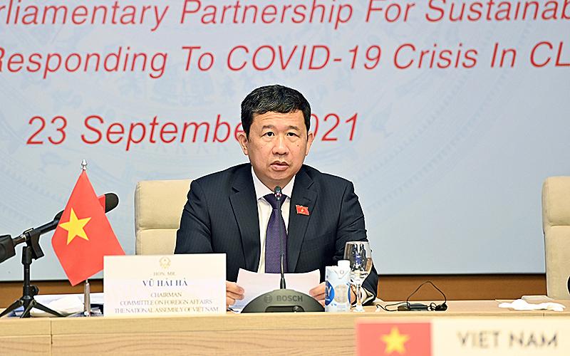 Đẩy mạnh hợp tác Khu vực Tam giác phát triển Campuchia - Lào - Việt Nam -0