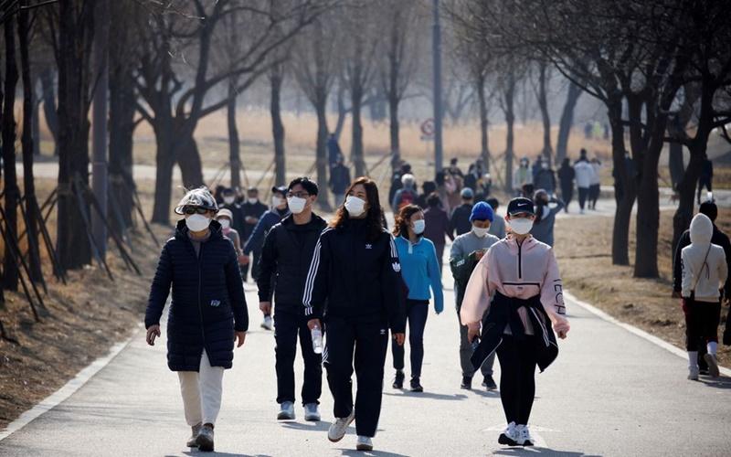 Hàn Quốc ghi nhận ca mắc mới cao kỷ lục