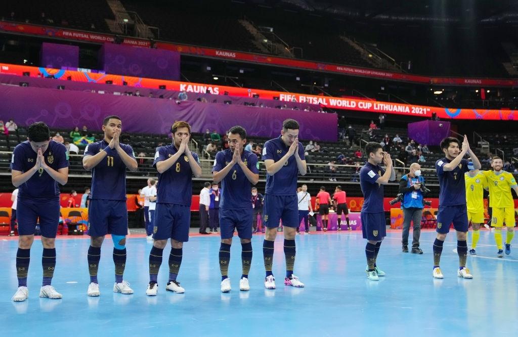 Thái Lan và Nhật Bản dừng bước ở Vòng 1/8 Futsal World Cup -0