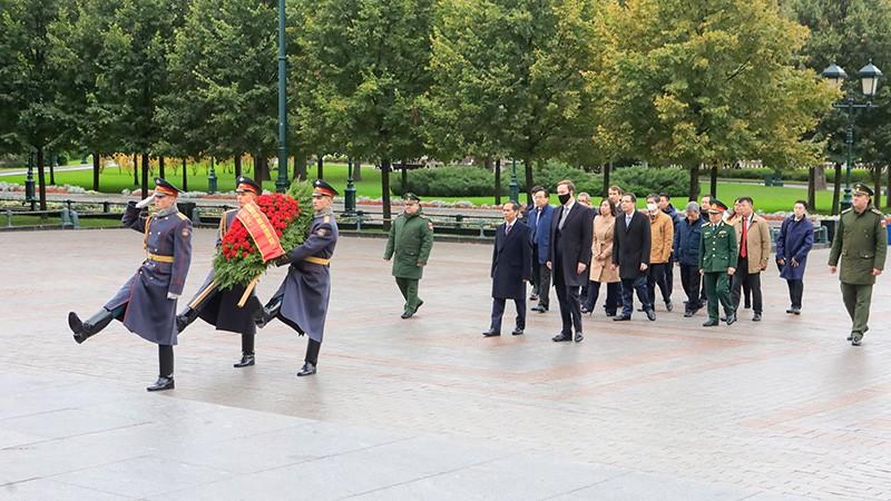 Bộ trưởng Ngoại giao Bùi Thanh Sơn gặp Phó Chủ tịch Hội đồng Liên bang Nga -0