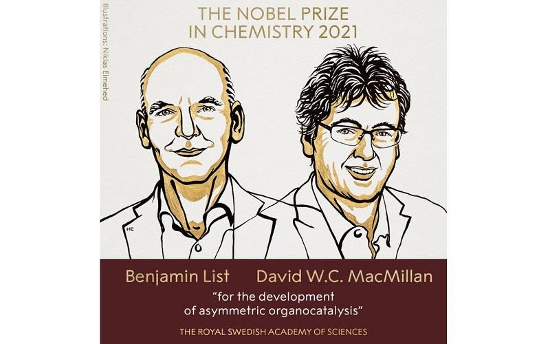 Giải Nobel Hóa học 2021 vinh danh nghiên cứu về cách xây dựng phân tử