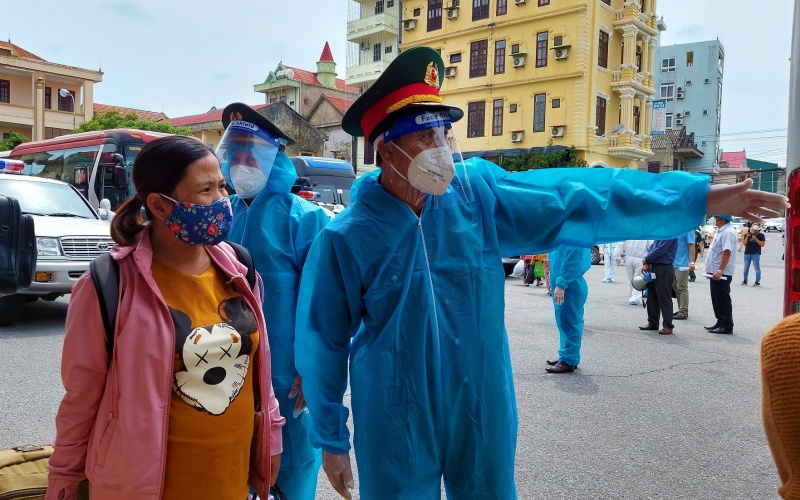 Quảng Bình đón gần 3.000 công dân từ phía nam về quê bằng tàu hỏa -0
