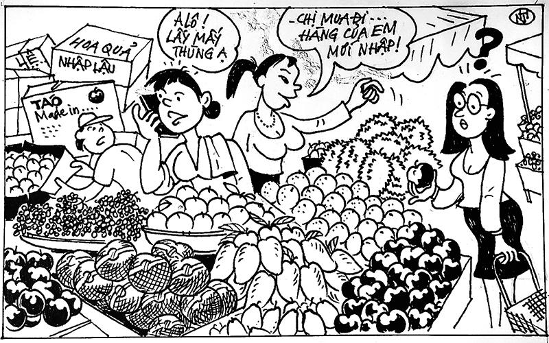 Cảnh giác với thực phẩm nhập khẩu giá rẻ  -0