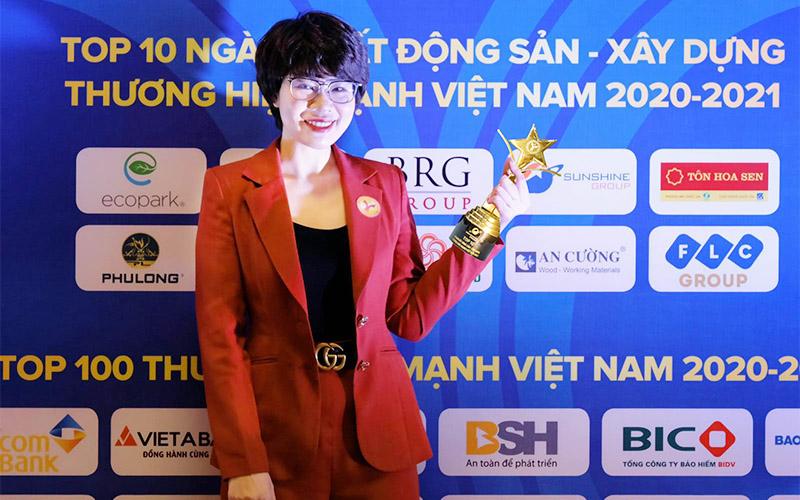Sunshine Group được vinh danh trong nhóm 10 thương hiệu ngành Bất động sản - Xây dựng -0