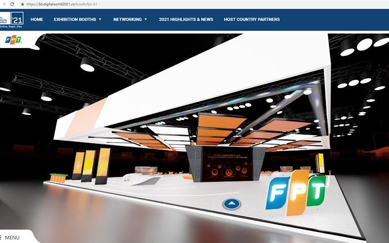 Ba giải pháp công nghệ của FPT được giới thiệu trong Gian hàng quốc gia tại ITU Digital World -0