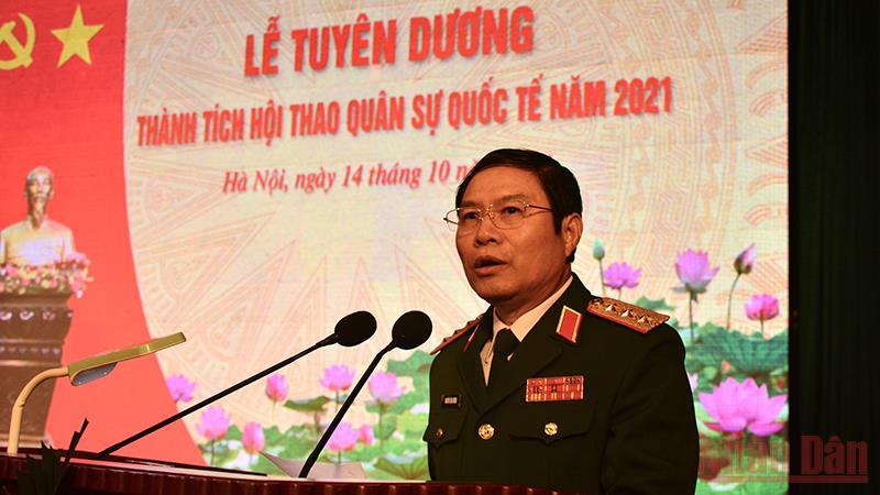 Tuyên dương các đội tuyển và lực lượng tham gia Army Games 2021 -0