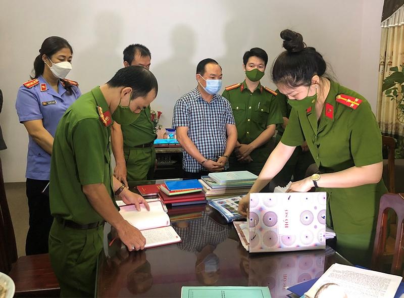 Bắt tạm giam Chủ tịch HĐQT CTCP môi trường và quản lý đô thị Tuyên Quang -0